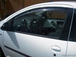 Zijwindschermen Toyota Aygo 5-deurs 06.2005-03.2014