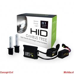 Xenon-HID set H1 8000K 35 Watt 12 Volt High Quality set ook voor auto\'s met CAN-bus
