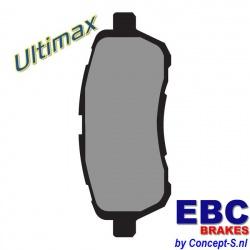 Remblokken set EBC Ultimax front Suzuki Swift FZ-NZ 1.2-1.3DDiS september 2010-heden. Ook Swift 1.6 Sport januari 2012-heden