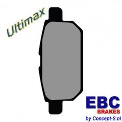 Remblokken set EBC Ultimax achter Suzuki Swift FZ-NZ 1.6 Sport januari 2012-heden