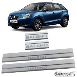 RVS Instaplijsten mat geborsteld Suzuki Baleno 06.2016