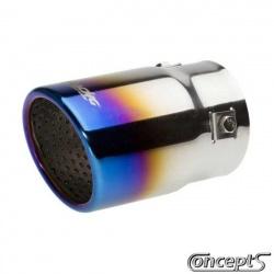 Blue Burned uitlaatsierstuk 77mm Suzuki Swift 1.3-1.3DDiS-1.5 05.2005-09.2010