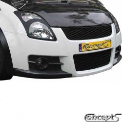 Voorbumper Sport-Look Suzuki Swift EZ-MZ mei 2005-sep 2010 incl. DRL