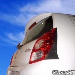 Dakspoiler Suzuki Alto mrt 2009-heden. Lichtgewicht ABS kunststof