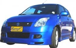 Voorspoiler S4 Suzuki Swift EZ-MZ mei 2005-dec 2007