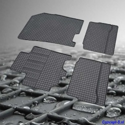 Pasklare rubber mattenset Suzuki SX4 S-Cross oktober 2013-