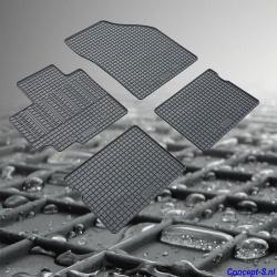 Pasklare rubber mattenset Suzuki Celerio september 2014-