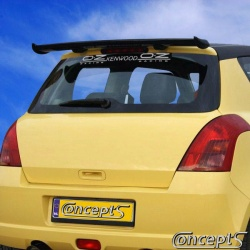 Dakspoiler RaceR Suzuki Swift EZ-MZ mei 2005-sep 2010