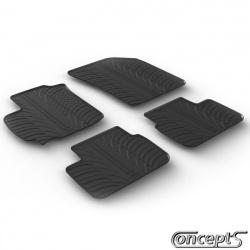 Pasklare rubber mattenset Suzuki Swift FZ-NZ 09.2010 ook Swift Sport 2012-2018