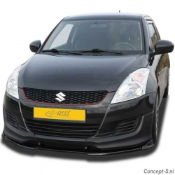 Voorspoiler-splitter Suzuki Swift 1.2-1.3DDiS NZ 09.2010-facelift 2014 icm corners