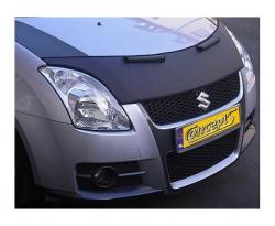 Motorkaphoes-Hoodbra zwart Suzuki Swift EZ-MZ mei 2005-sep 2010