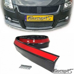 EasyLip Universal Carbon-look 45. Lengte 250 cm zichtbare breedte 27 mm