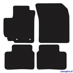 Pasklare mattenset Suzuki Swift FZ-NZ sep 2010-heden zwart velours met zwart stiksel