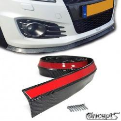 EasyLip Universal Carbon-look 65. Lengte 250 cm zichtbare breedte 37 mm