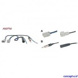 Antenne adapter AM-FM voor Suzuki Swift Fakra lengte 15 cm