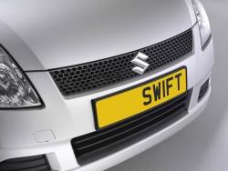 Nummerplaathouder Suzuki Swift EZ-MZ mei 2005-dec 2007