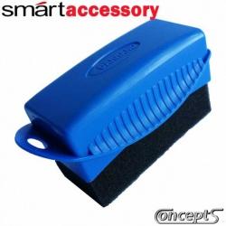 SmartWax SmartContour Tires en Trim Applicator -de applicator spons voor het reinigen van velgen en banden- 95x45 mm