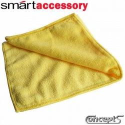 SmartWax SuperTowel Yellow -microfiber poetsdoek geel- 375x375 mm