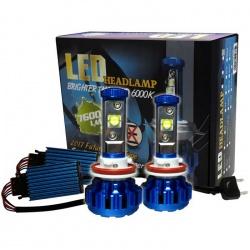 LED set H8 5500K-3000lm 30 Watt 8-36 Volt voor auto met en zonder CAN-bus