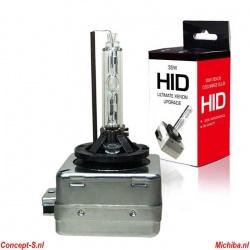 Xenon-HID autolamp D1S 6000K 35 Watt zonder E-keur - per stuk