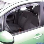Zijwindschermen getint voorportieren Suzuki Celerio 5-deurs 09.2014-