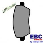 Remblokken set EBC Ultimax front Suzuki Swift EZ-MZ 1.3-1.3DDiS-1.5 mei 2005-september 2010. Ook Swift 1.6 Sport