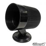 Instrumentenhouder Classic zwart kunststof voor 52 mm instrumenten
