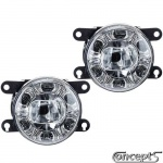 LED Dagrijd- en mistlampen met 6 SMDs ter vervanging van originele mistlampen van diverse Suzuki modellen