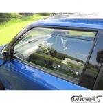 Zijwindschermen getint voorportieren Suzuki Swift EZ-MZ 5-deurs mei 2005-sep 2010