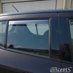 Zijwindschermen getint achterportieren Suzuki Swift EZ-MZ 5-deurs mei 2005-sep 2010