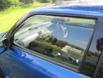 Zijwindschermen getint voorportieren Suzuki Swift FZ-NZ 5-deurs sep 2010-heden