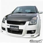 Voorspoiler Suzuki Swift MZ 1.6 Sport 09.2006-12.2011