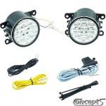 LED Dagrijlampen met 18 SMDs ter vervanging van originele Suzuki mistlampen