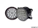LED Dagrijdlampen met 18 SMDs ter vervanging van originele mistlampen van diverse Suzuki modellen