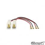 Luidspreker adapter set voor diverse Suzuki modellen set a 2 stuks