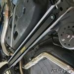 Aluminium strutbar achter-onder Suzuki Swift AZ 1.0 1.2 04.2017- 1.4 Sport 06.2018-
