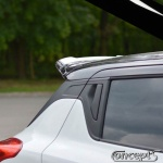 Spoiler Add-on hoogglans zwart Suzuki Swift Sport AZ 1.4 Boosterjet 06.2018-