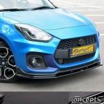 UnderLine frontspoiler carbon-look Suzuki Swift Sport AZ 1.4 Boosterjet 06.2018-