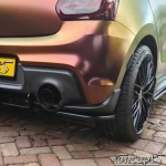 UnderLine rear corners zwart Suzuki Swift Sport AZ 1.4 Boosterjet 06.2018-