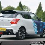 UnderLine sideskirts carbon-look Suzuki Swift Sport AZ 1.4 Boosterjet 06.2018-