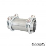 Adapter middendemper of soundpipe Suzuki Kizashi 2.4-4 cilinder 09.2010-