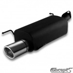 Sportuitlaat 1x90mm Suzuki Swift EZ-MZ 1.3-1.5 en 1.3DDiS mei 2005-sep 2010