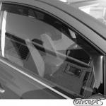 Zijwindschermen zwart voorportieren Suzuki SX4 S-Cross 5-deurs 10.2013-