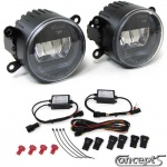 2in1 Full LED mistlampen en DRL model U ter vervanging van originele Suzuki mistlampen