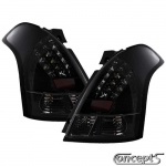 LED Achterlichten smoke-zwart Suzuki Swift MZ 05.2005-09.2010 en Sport 09.2006-12.2011