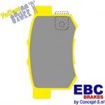Remblokken EBC Yellowstuff achter Suzuki Swift MZ 1.6 Sport 09.2006-12.2011