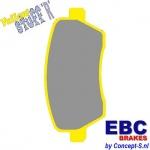Remblokken EBC Yellowstuff front Suzuki Swift MZ 1.3 1.3DDiS 1.5 05.2005-09.2010 1.6 Sport 09.2006-12.2011
