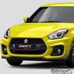 Kentekenplaat Suzuki SWIFT Sport