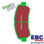 Remblokken set EBC Greenstuff front Suzuki Kizashi 2.4 2WD-4WD 09.2010-2014