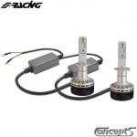 Matrix LED set H1 5000K-5000lm 30 Watt 12-24 Volt voor auto met en zonder CAN-bus